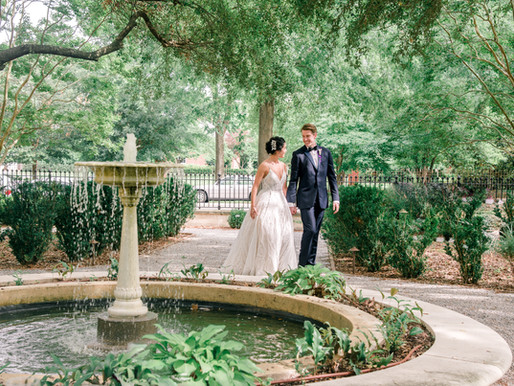 Wedding at Hampton Preston Mansion