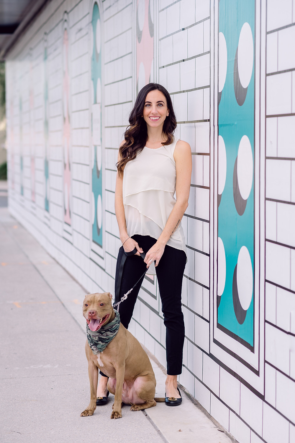 Headshots for dog walkers in St. Pete