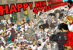 2009年 NewYear Post Card