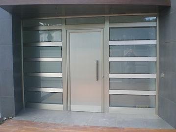 Puerta de comunidad en Reus