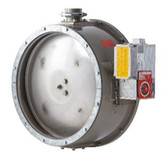 GASTIGHT SHUT-OFF VALVE WITH ELECTRICAL