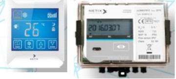 """NETIX SENSORS, THERMOSTATS, & BTU METERS (for Field Level)"""