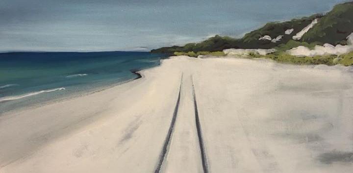 On the Sand_50x50cm.jpg