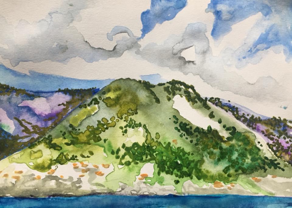 Cinque Terre from the Sea