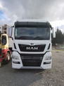 640hp MAN tractor unit sponsored by Penske NZ