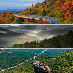 Asheville Mountains and Parks