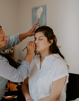 Asheville Elopement Makeup Services