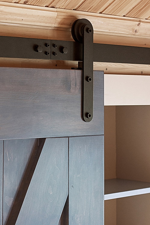 Амбарный механизм Monorolla Black, Амбарные двери