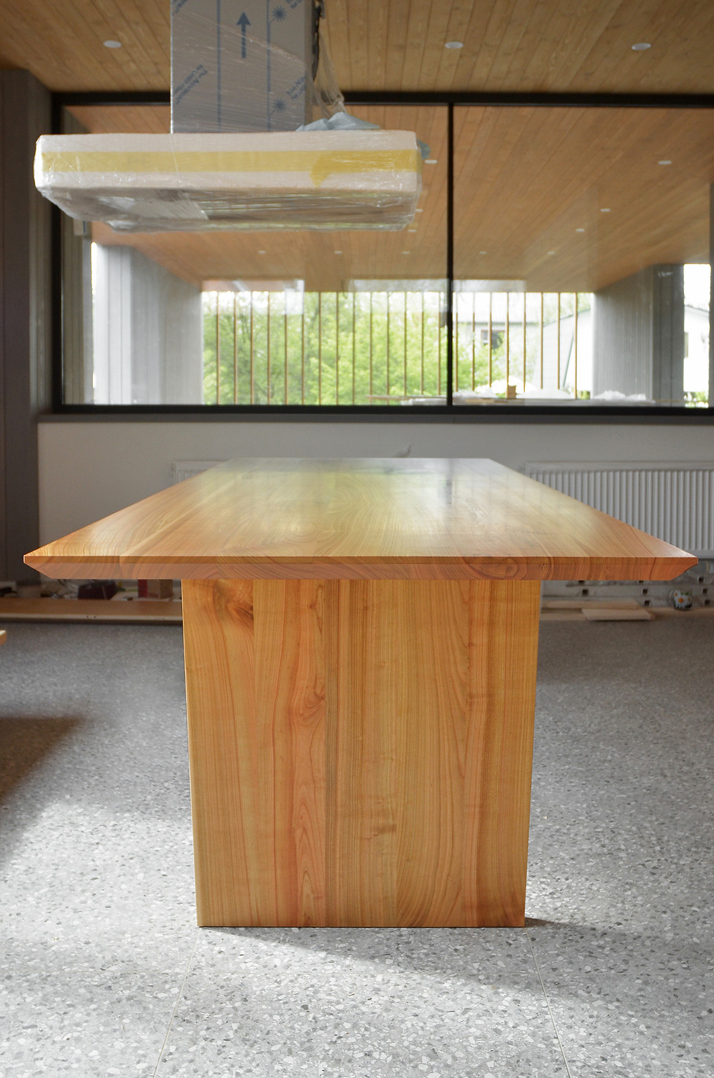 dining table of cherry
