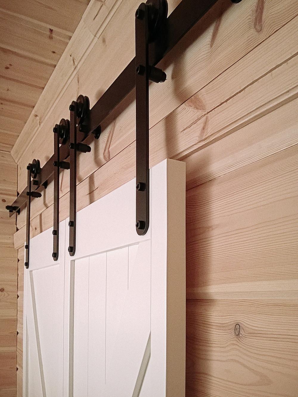 Амбарная дверь, Monorolla Black