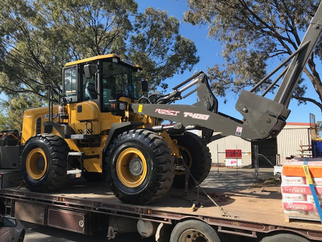 React T400 12 Ton Wheel Loader