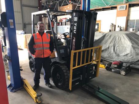 TEU Yanmar Diesel Forklift