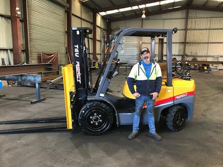 TEU FG35T LPG Forklift