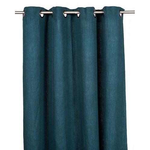 Rideaux Propriano - Bleu de prusse