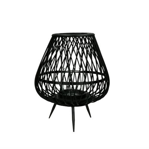 Lampe bambou - Noir