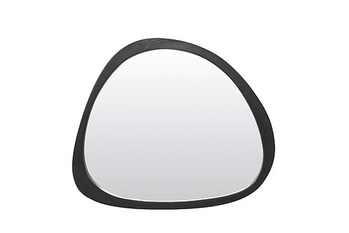 Miroir SONORA bois noir PM