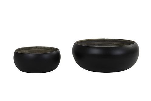 Saladier bambou - Noir