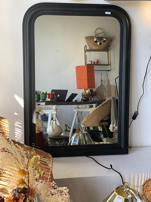 Miroir antique - Noir