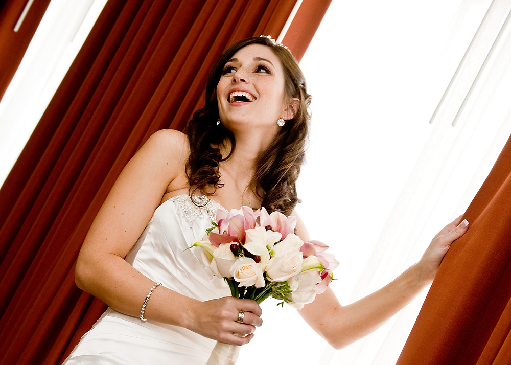 Establishing a good rapport with your Photographer will ensure wonderful candid moments.