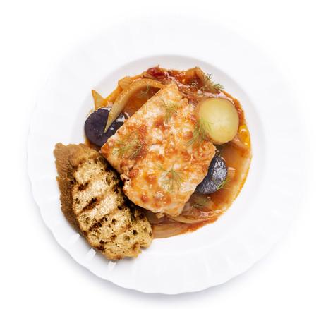 Provençal Braised Whitefish