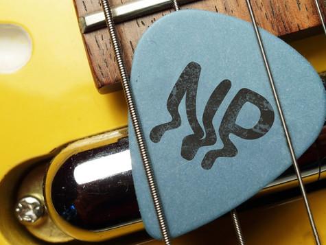 Identity on Guitar Pick