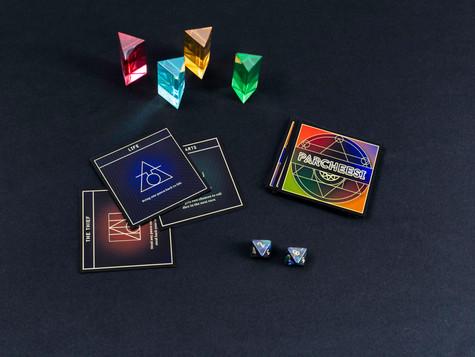Parcheesi Game Pieces