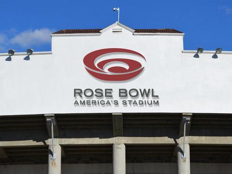 Stadium Front Signage