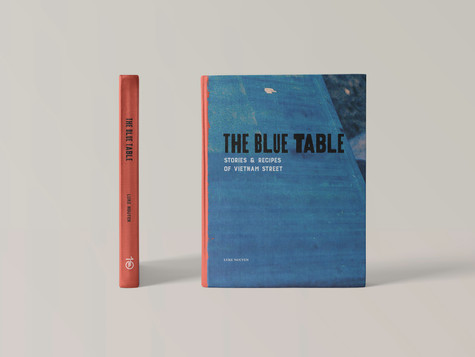 The Blue Table Cover