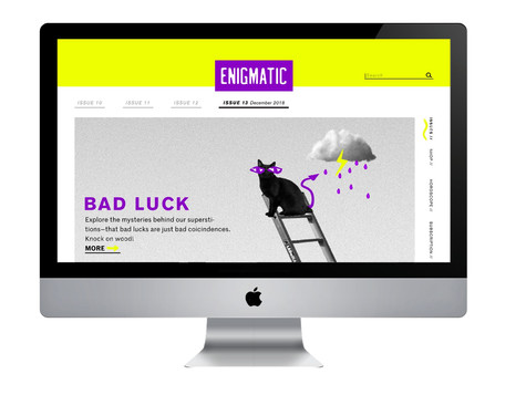 Enigmatic Landing Page