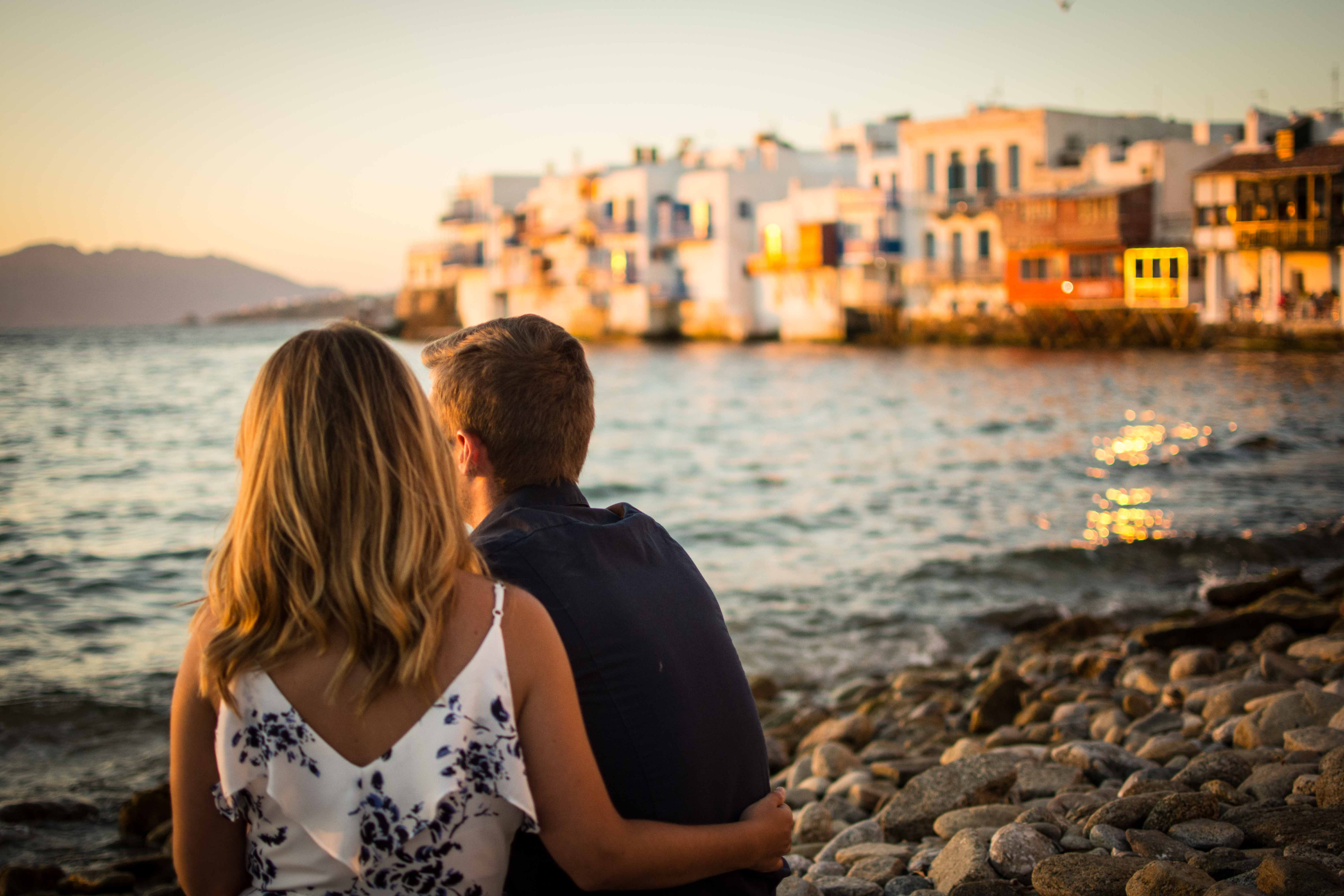 Mykonos greece portrait photography