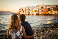 Mykonos greece portrait photography