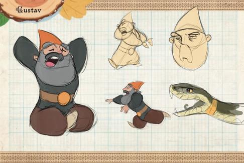 Gnomes! Gustav Sketches