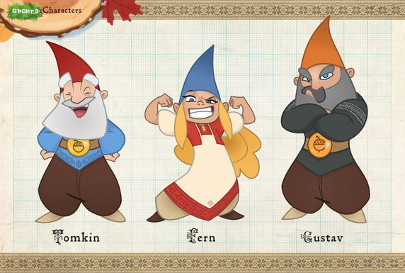 Gnomes! Animation Characters