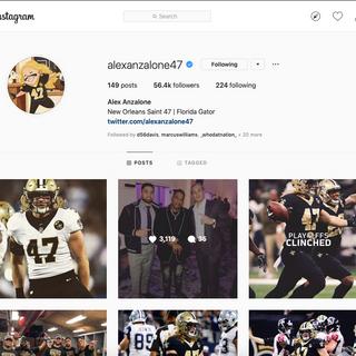 Anzalone Instagram