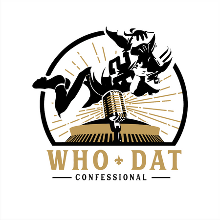 Who Dat Confessional Logo