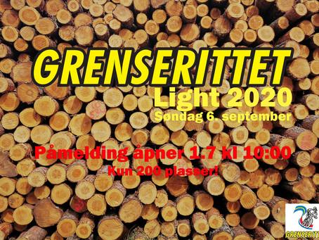 Påmeldingen til Grenserittet Light 2020 åpner!