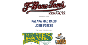 T-Bone Tom's and The Tookie's Family of Restaurants Joins Forces with Palapa Mac Radio