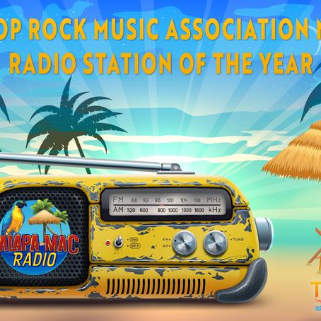 PALAPA MAC RADIO NOMINATED 2020 TROP ROCK RADIO STATION OF THE YEAR