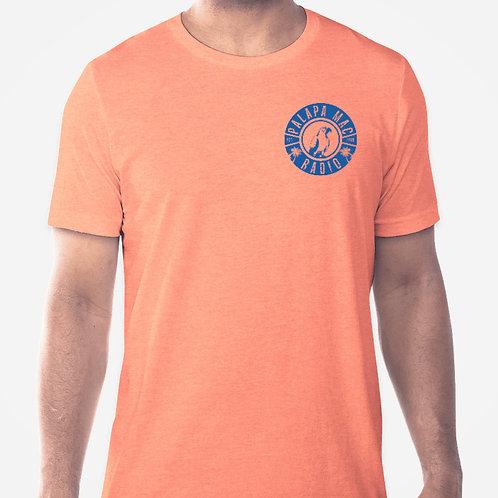 PMR - Heather Cantaloupe Retro Style T-Shirt