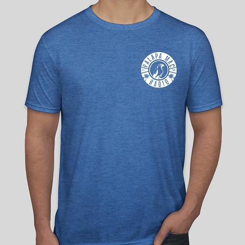 PMR - Heather Royal Retro Style T-Shirt