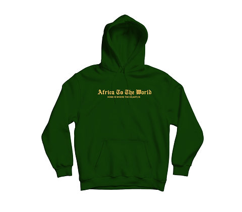 Africa To The World Hoodie — Ghana To The World