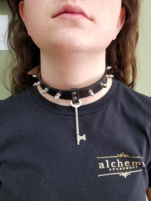 spiked collar