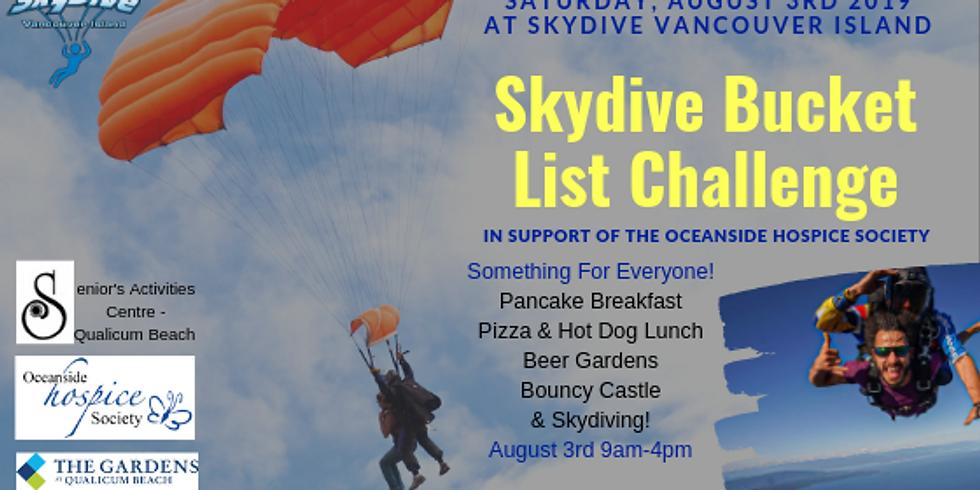 Skydive Bucket List Challenge