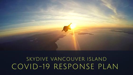SKYDIVE VANCOUVER ISLAND COVID-19 REspon
