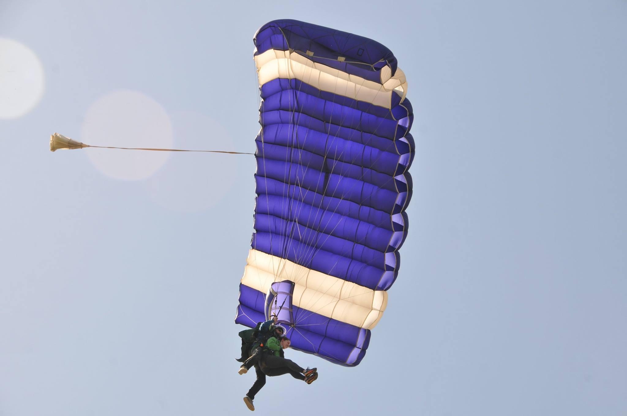 Tandem Skydive in BC