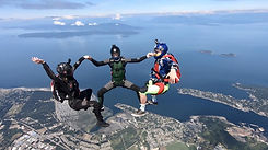 Skydive Vancouver Island Sport Jumpers