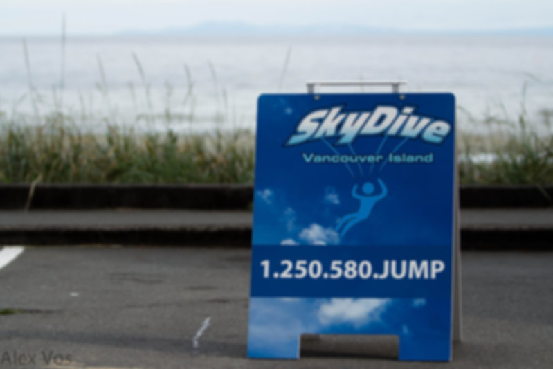 Skydive Vancouver Island on The Beach.jp