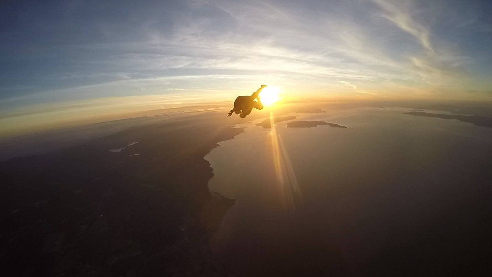 Tandem Skydive | Skydive Vancouver Island | Vancouver Island Sunsets