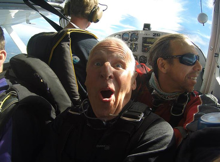 Don't Let Your Age Be Your Limitation To Try Skydiving!