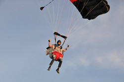 Wingsuit at Skydive Vancouver Island